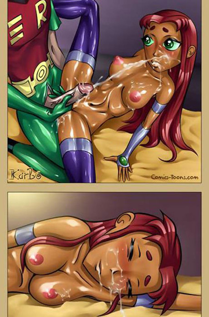 Teen Titans Cartoon Sex